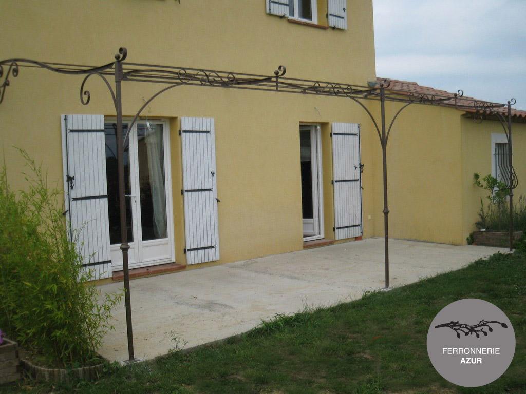 Fabrication d'une pergola pour terrasse à Toulon dans le Var occasion