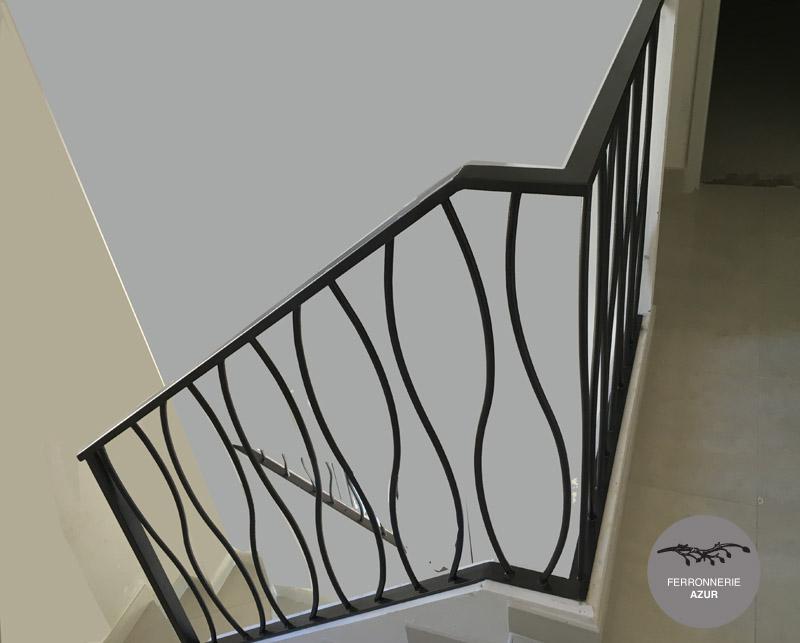 Fabrication d'une rampe d'escalier Design à Hyères occasion