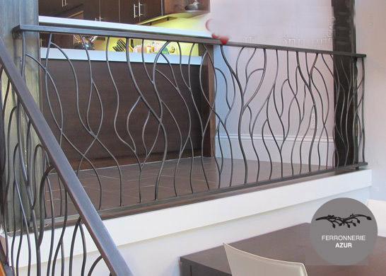 Fabrication d'une rampe d'escalier à Saint Tropez occasion
