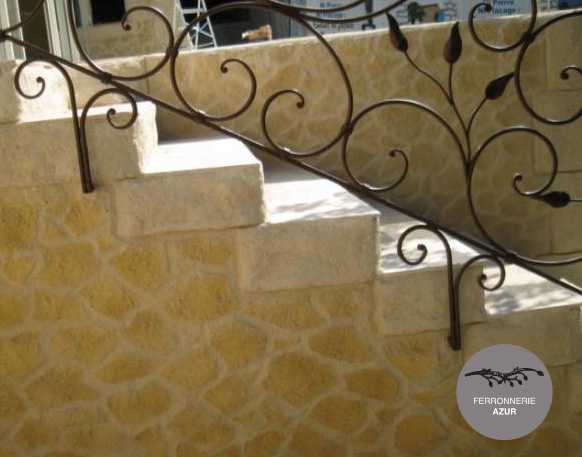 Fabrication Rampe Escalier Fer Forge Saint Tropez Var 83