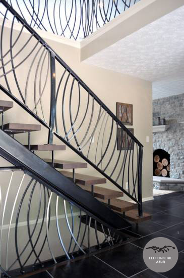 Fabrication d'une rampe d'escalier en inox à Nice occasion