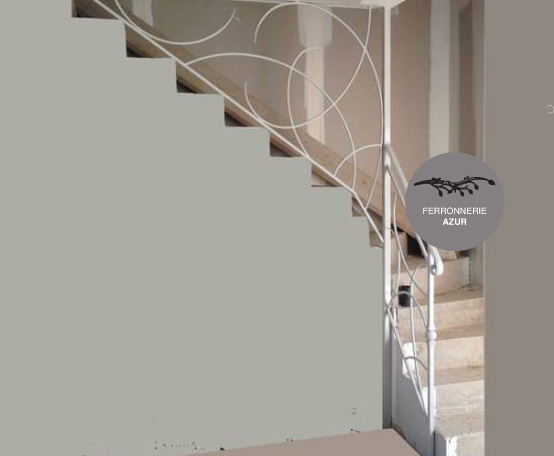 Fabrication d'une rampe d'escalier à Saint Raphaël occasion