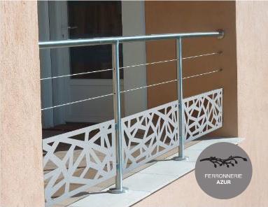 Fabrication d'un garde corps pour balcon à Toulon occasion
