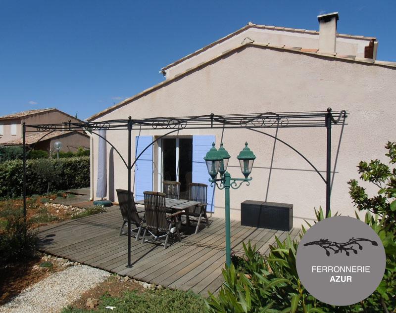 Fabrication d'une pergola style provençal à Grasse 06 occasion