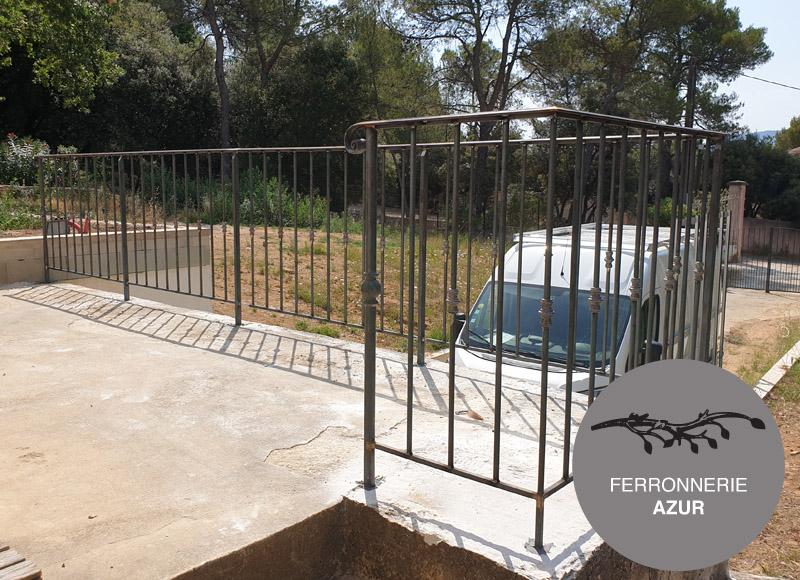Garde corps pour balcon maison à étage à Grasse 06 occasion