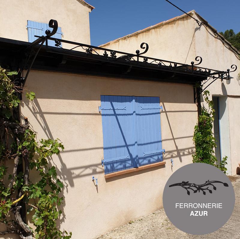 Treille murale metal fer forgé à Cannes Alpes Maritimes 06 occasion